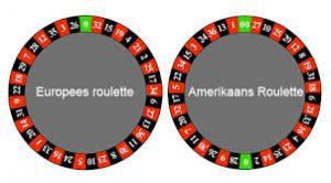 amerikaanse en europese roulette